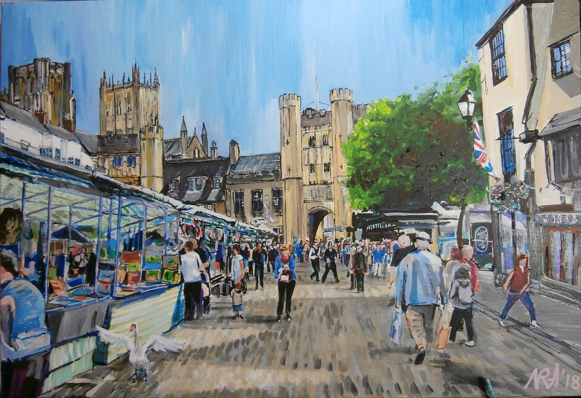 From a holiday in Wells